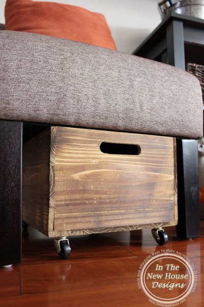 Rustic Pet Toy Box For Under $15