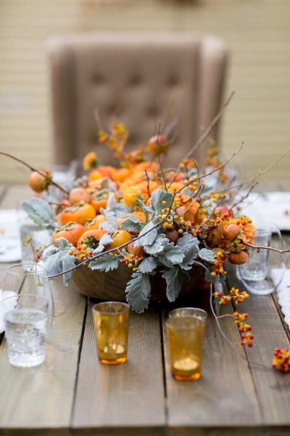5 thanksgiving table centerpiece alternatives in the new house