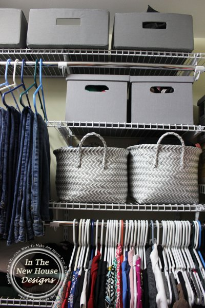 Reorganize Your Small Closet For Under $100