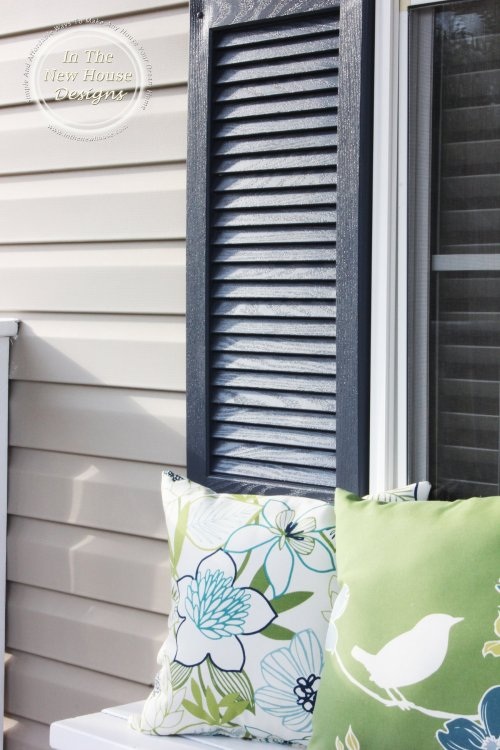 Finished shutters