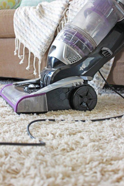 Vacuuming tips