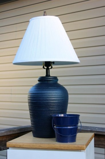 DIY Outdoor Lamp