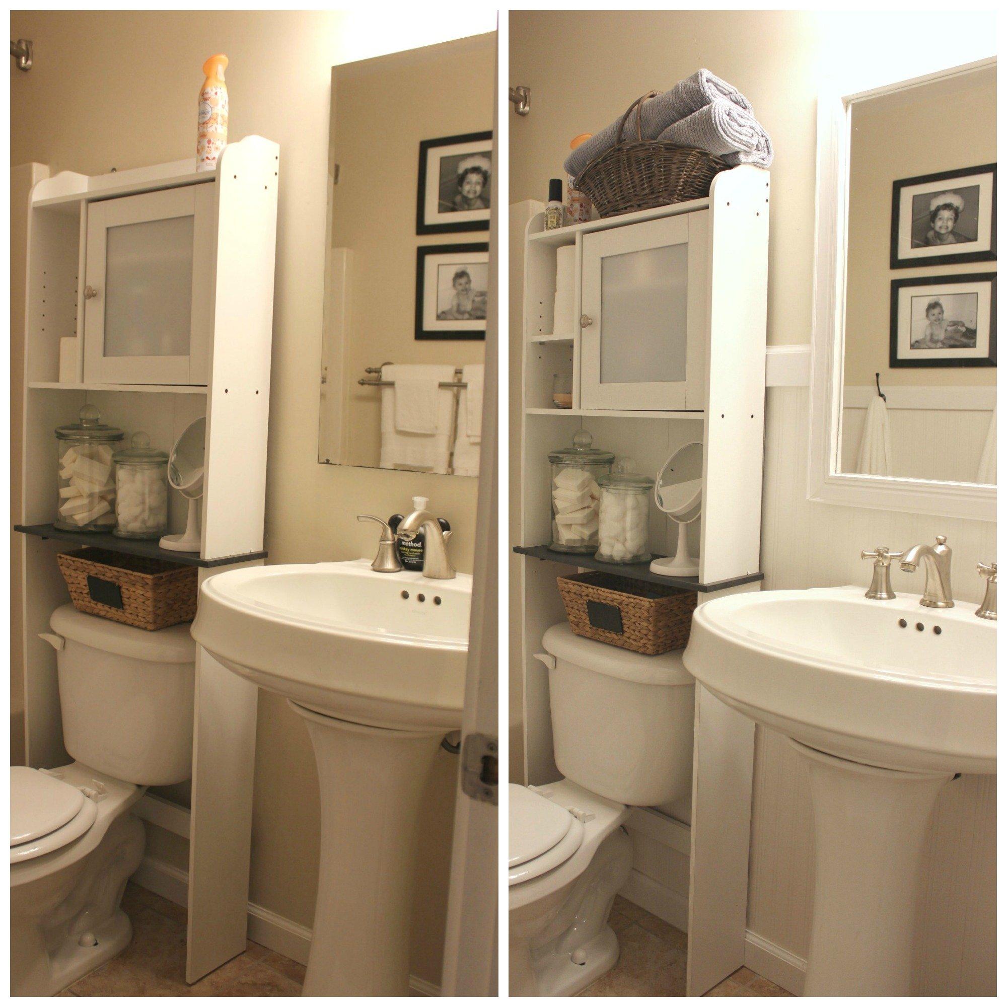 Farmhouse Bathroom Facelift In The New House - Bathroom facelift