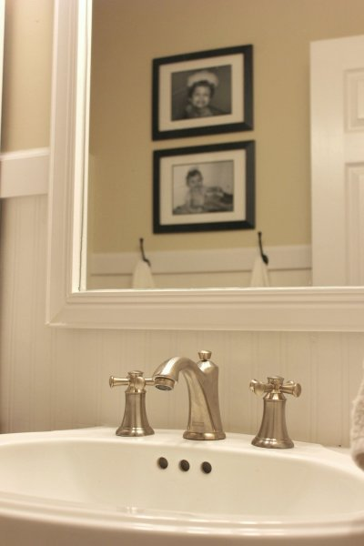 Farmhouse Bathroom Facelift AND A Giveaway!