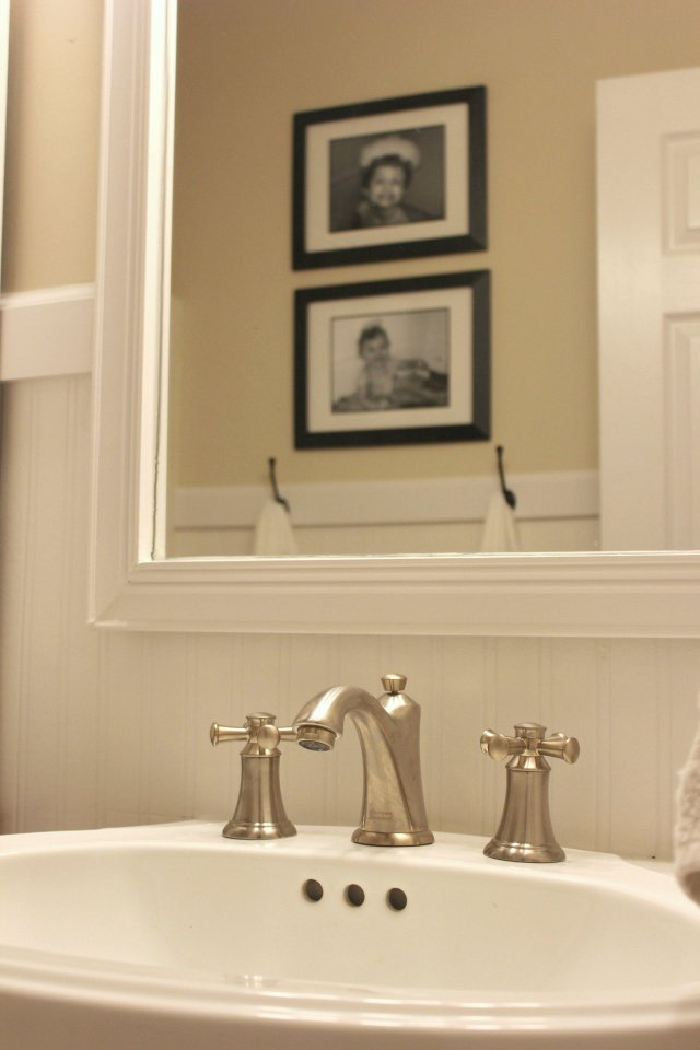 Farmhouse Bathroom Facelift AND A Giveaway In The New House Designs
