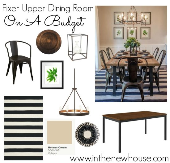 Get This Fixer Upper Dining Room Look For Half The Price. Click Through For Sources At In The New House Designs.