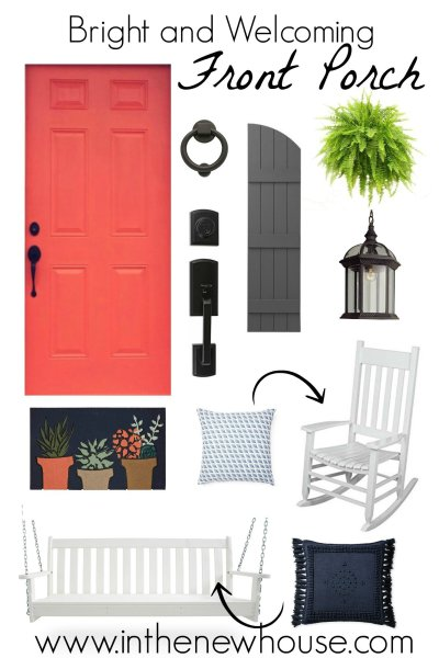 Welcoming Front Porch Style Board