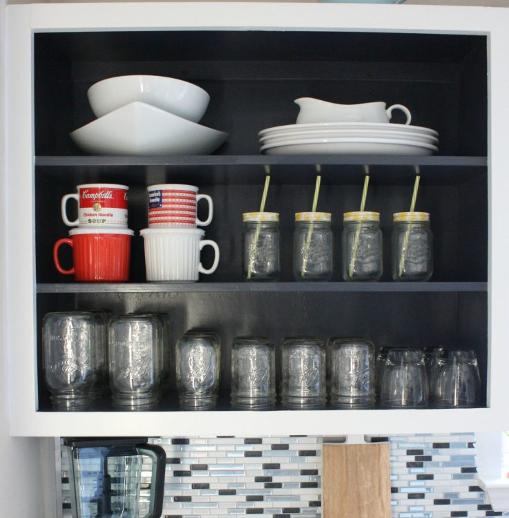 kitchen cabinet open shelving review