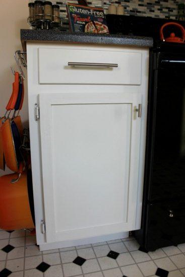 DIY Flat Cabinet To Shaker Cabinet Door Tutorial