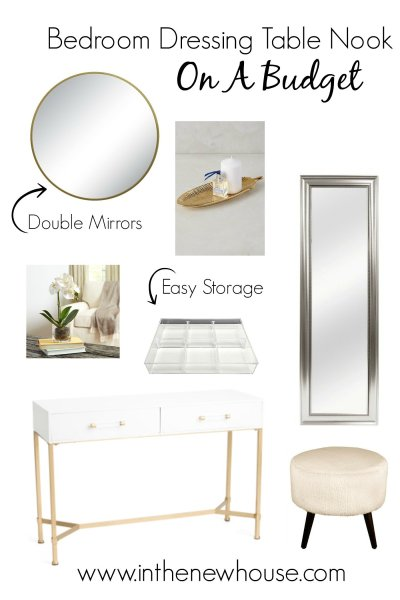 Bedroom Dressing Table Recreation On A Budget
