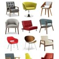 affordable mid-century modern chairs