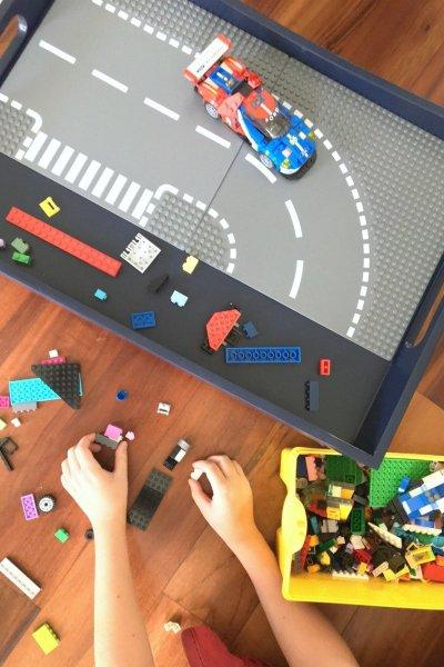 DIY Lego Tray