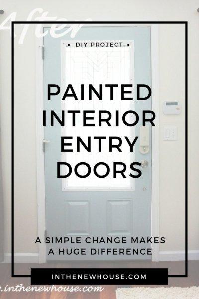 home interior door painting help
