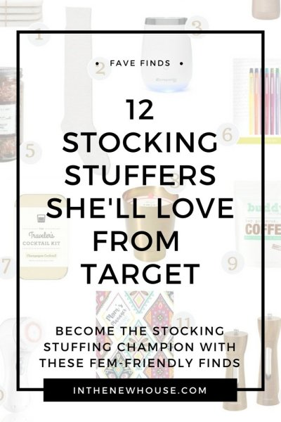 12 Stocking Stuffers She'll Love From Target