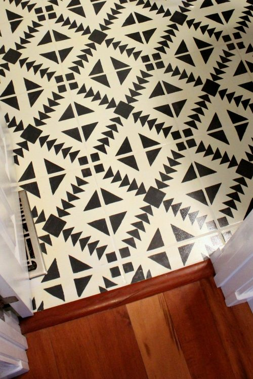 poets tile chalk painting floor video ceramic painted tiles paint floors
