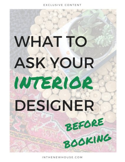 questions for an interior designer