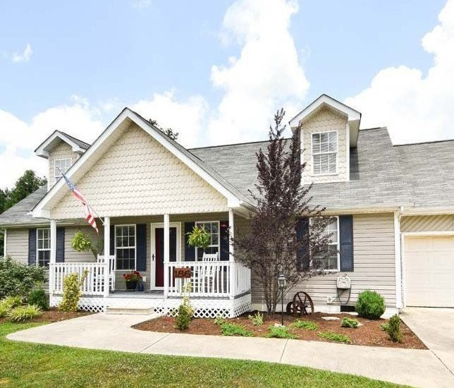 home exterior adding curb appeal