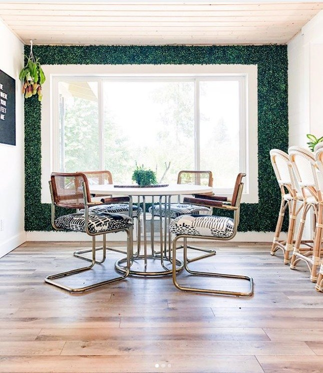 thrift store dining room from @banyanbridges