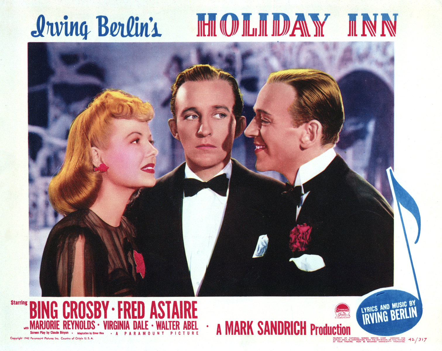 Image result for holiday inn film poster