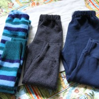 Crafty : Baby/Kid Pants from Sweaters