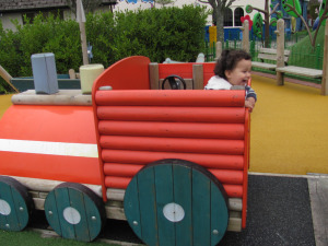 peppa pig world playground