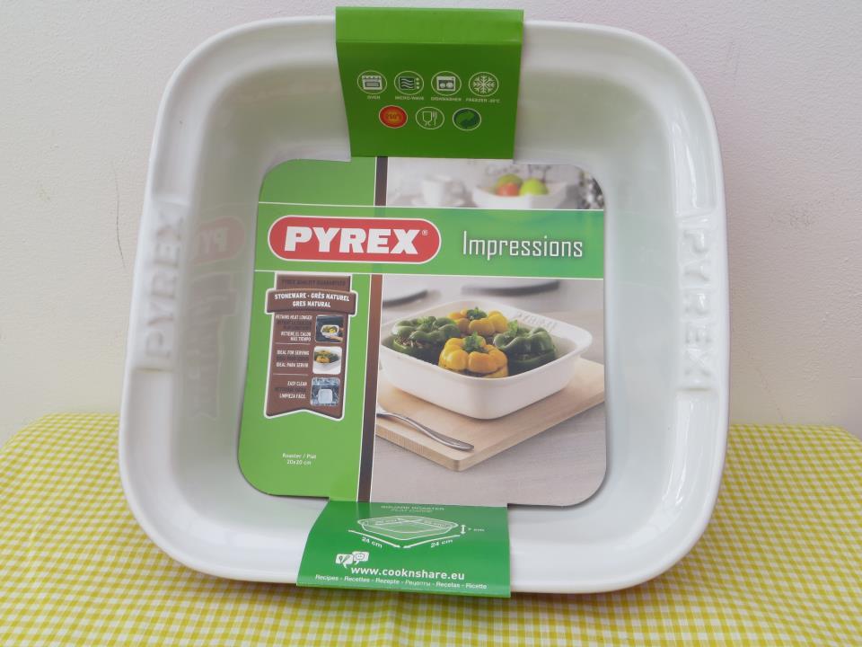 pyrex stoneware