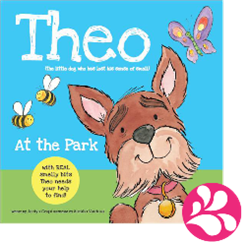 theo scented book by autumn publishers