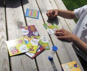 abc brainbox games card