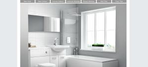 basic white bathroom fitted clean bathroom