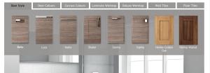 bathroom door options