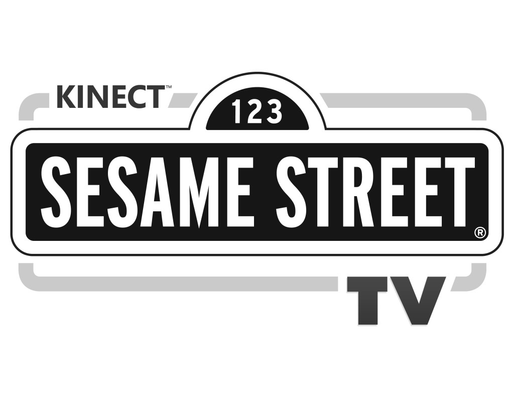 logo for sesame street tv on kinect
