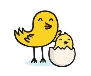 twinkl baby bird logo