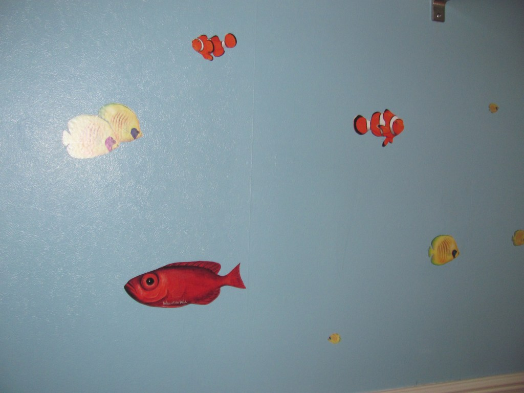 aquarium wall stickers