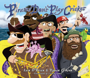 Pirates Dont Play Cricket book giveaway