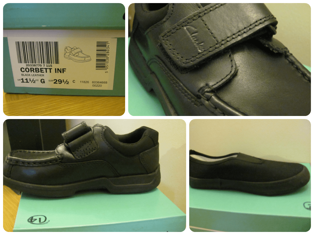 brantano black school shoes