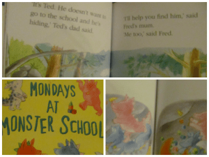 mondays at monster school early reader