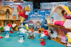 New smurfs toys range from Jakks Pacific