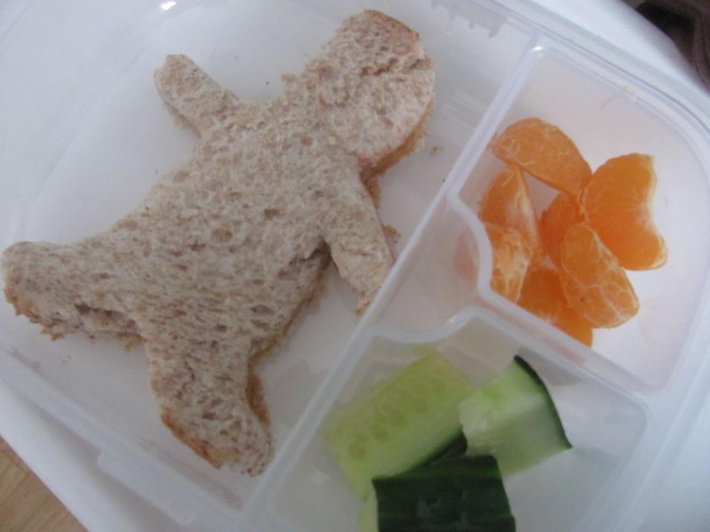 lunch box shaped sandwiches bento box