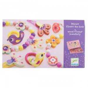 djeco flower jewellery set