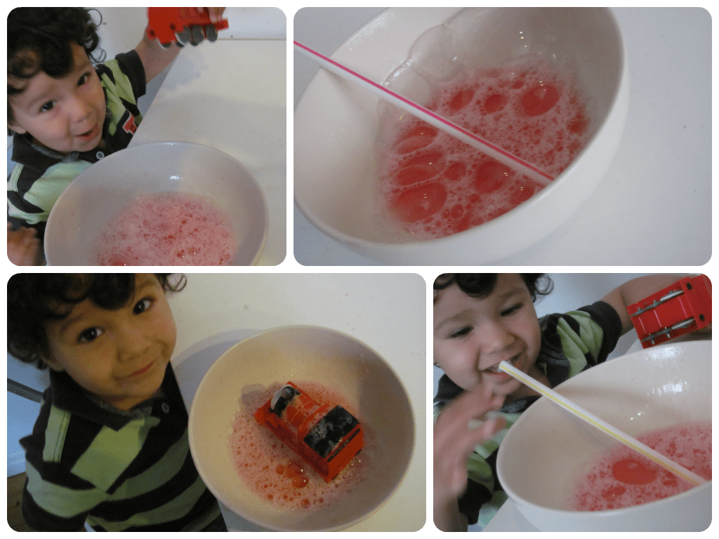 blowing bubbles activity