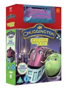 chuggington chugger of the year dvd