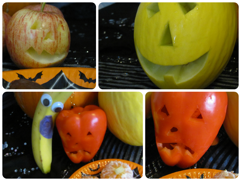 Spooky Fruit! Healthy Halloween Party Food Ideas - In The Playroom