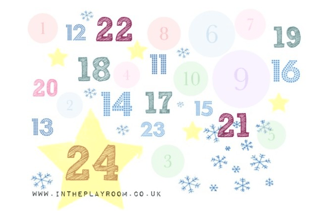 Advent giveaway day 18 free Christmas colouring sheets