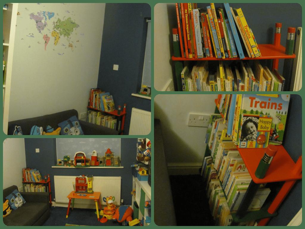 playroom furniture - reading corner