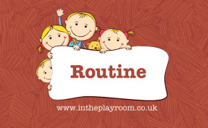 Tips for a peaceful life with preschoolers - routine