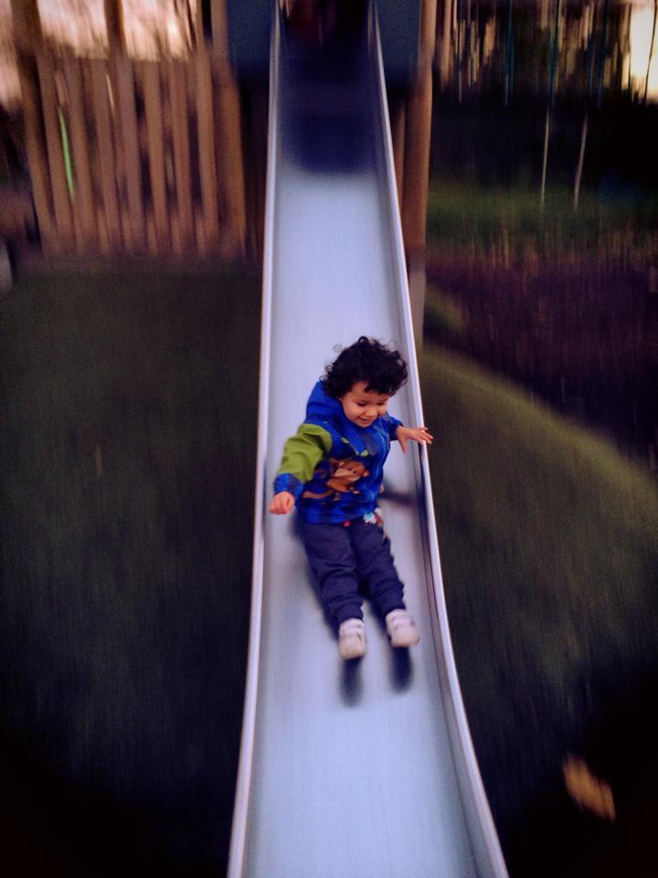 kew gardens slide