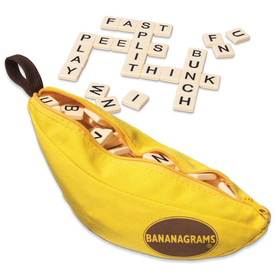 Advent Day 8 Bananagrams on Rhyming Word
