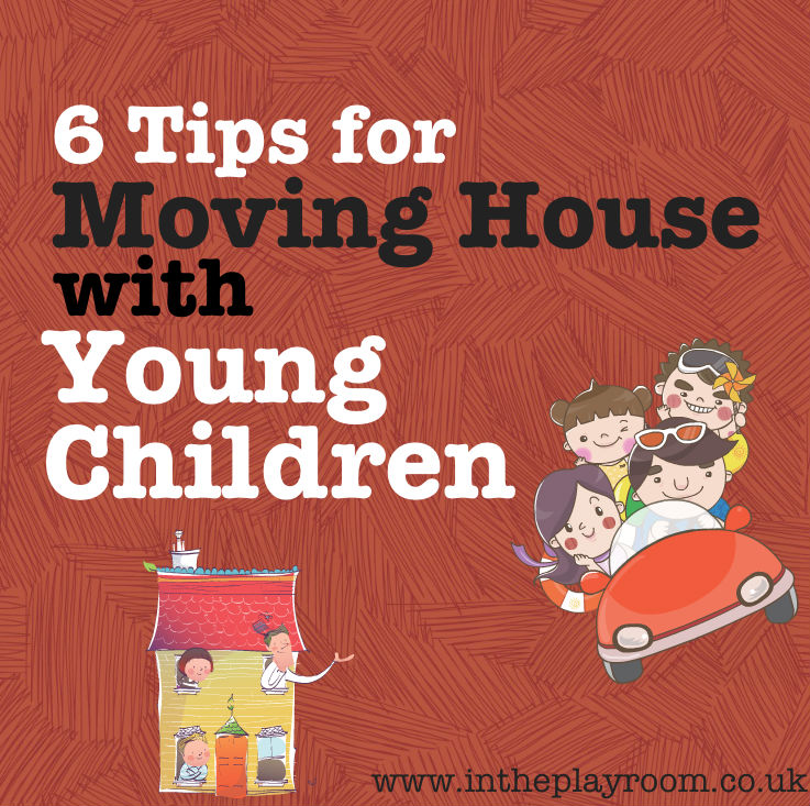tips for moving house with children