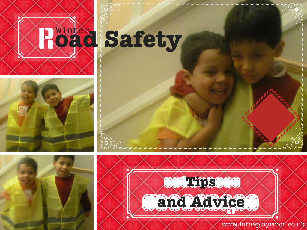 winter road safety tips for children