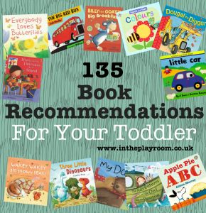 recommended books for toddlers for early literacy activities